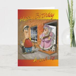 Golfing Funny Birthday Card