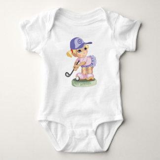 Golfing Girl Infant Creeper