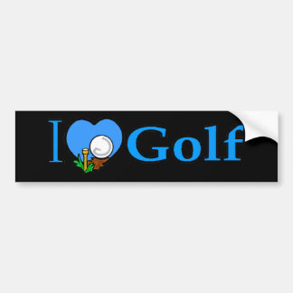Golfing Golfer Golf Gifts Bumper Sticker