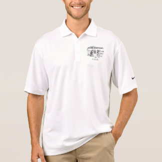 Golfing Golfer Golf Vintage Golf Player Tournament Polo Shirt