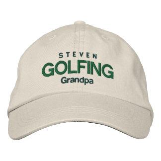 GOLFING GRANDPA Personalized Adjustable Hat V04A