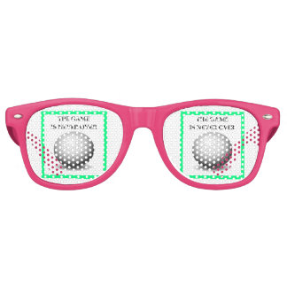 golfing retro sunglasses