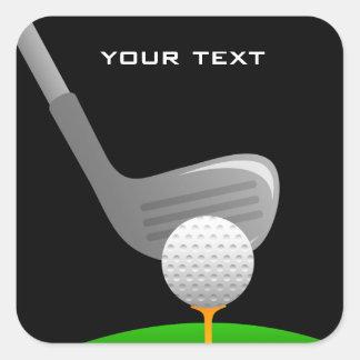 Golfing Sticker