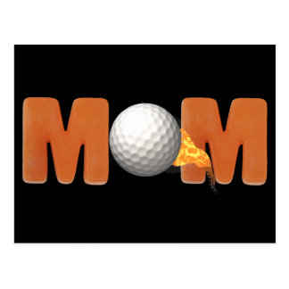 Golfing T-shirts and Gifts For Mom Postcard