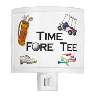Golfing Time Fore Tee Nite Light