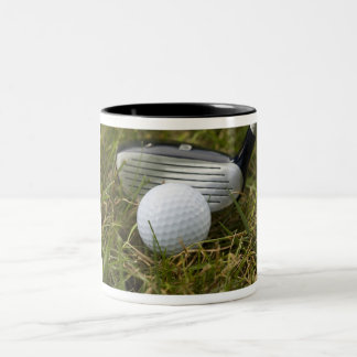 Golfing Two-Tone Coffee Mug