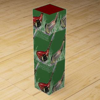 Golfing Wine Gift Box
