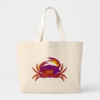Goliath the Crab Large Tote Bag
