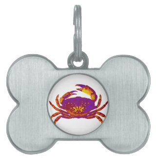 Goliath the Crab Pet ID Tags
