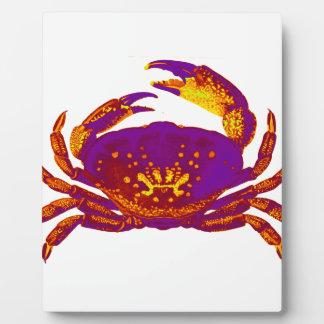 Goliath the Crab Plaque