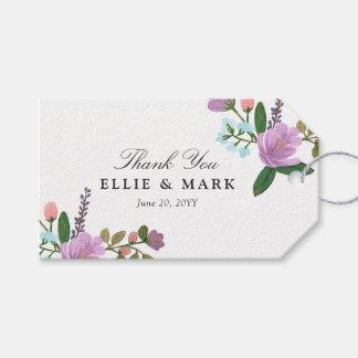 Golightly Floral Wedding Wedding Gift Tags