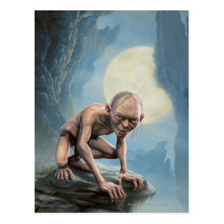 Gollum with Moon Postcard