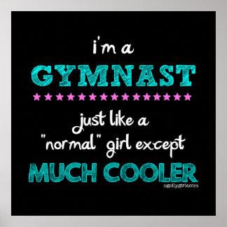 Golly filles - je suis un gymnaste