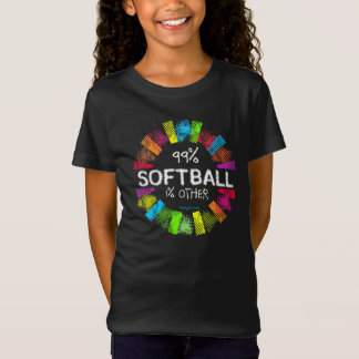 Golly Girls: 99 Percent Softball 1 Percent Other T-Shirt