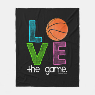 Golly Girls: Basketball - Love the Game Fleece Blanket