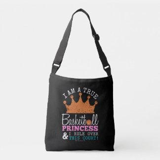 Golly Girls: Basketball Princess Rule This Court Crossbody Bag