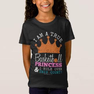 Golly Girls: Basketball Princess Rule This Court T-Shirt
