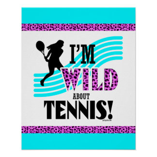 Golly Girls: I'm WILD about TENNIS Poster