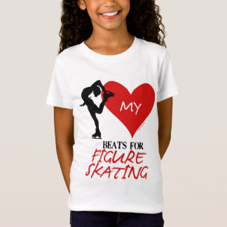 Golly Girls - My Heart Beats for Figure Skating T-Shirt