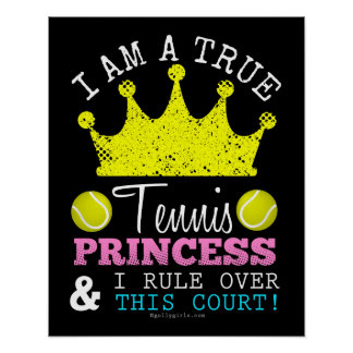 Golly Girls: Tennis Princess Rule Over This Court Poster