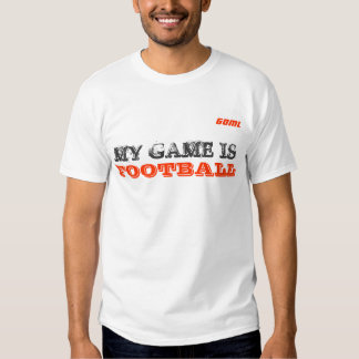 GOML | My game is football T Shirts