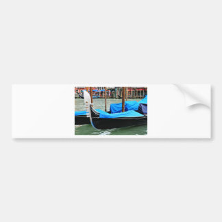 Gondola in Venice, Italy Bumper Sticker