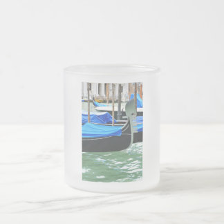 Gondola in Venice, Italy Frosted Glass Coffee Mug