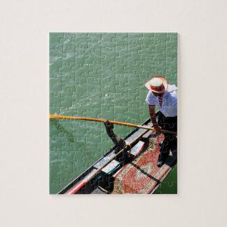 Gondola in Venice, Italy Jigsaw Puzzle