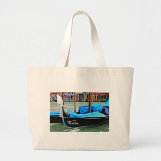 Gondola in Venice, Italy Large Tote Bag
