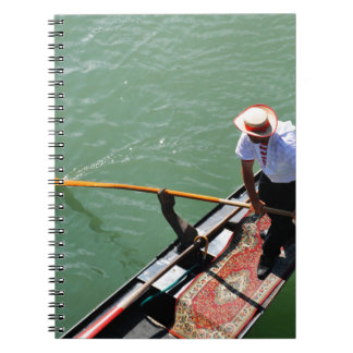 Gondola in Venice, Italy Notebook