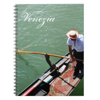 Gondola in Venice, Italy Notebooks
