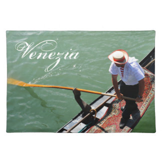 Gondola in Venice, Italy Placemat