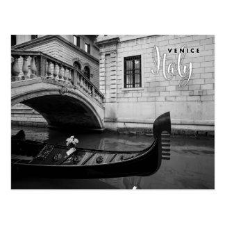 Gondola in Venice Italy Postcard