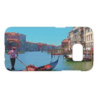 Gondola on Venice's Grand Canal Samsung Case