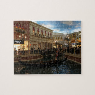 Gondola Ride at The Venetian Jigsaw Puzzle