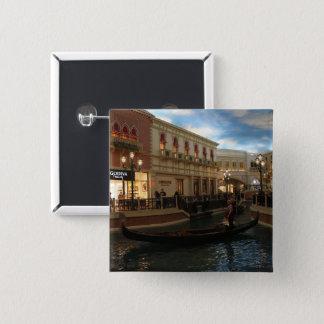 Gondola Ride at The Venetian Pinback Button