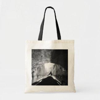 Gondola Under A Venice Bridge Budget Tote Bag