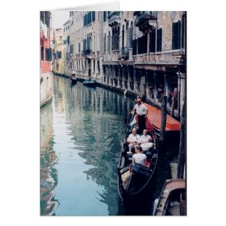 Gondola - Venice, Italy. (Note card)