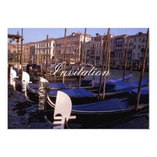 Gondolas Card