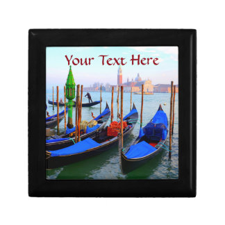 Gondolas in Venice, Italy Keepsake Boxes