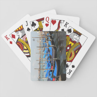 Gondolas in Venice Playing Cards