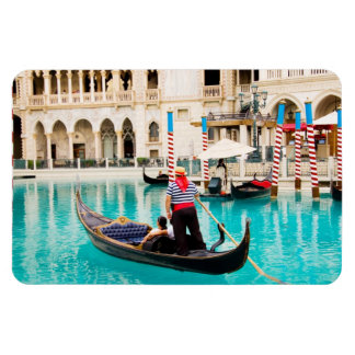 Gondolas Las Vegas Photo Flexible Magnet #1