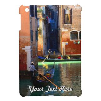 Gondolas on a Venetian Canal iPad Mini Cover