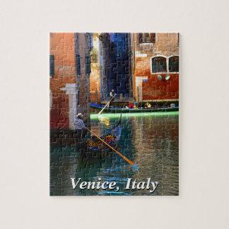 Gondolas on a Venetian Canal Puzzles