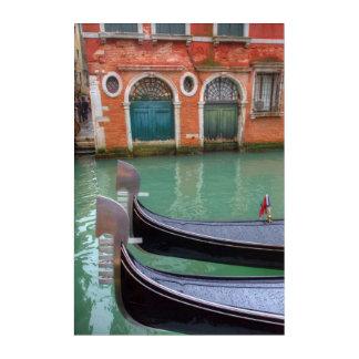 Gondolas on the Grand Canal, Venice Acrylic Print