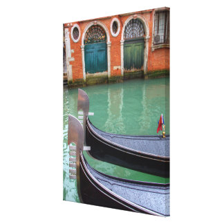 Gondolas on the Grand Canal, Venice Canvas Print