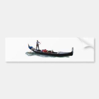 Gondolier Bumper Sticker