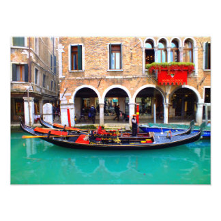 Gondolier in Cannaregio Photo
