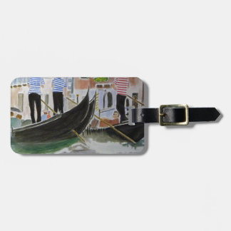 Gondoliers Italy Luggage Tag