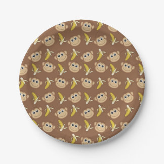 Gone Bananas Paper Plate